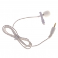 D-2 lavalier microphone WHITE